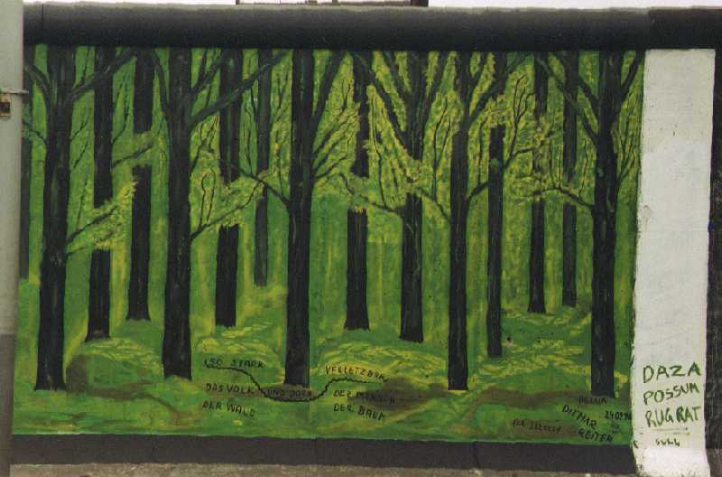 Berlin Wall - Floresta