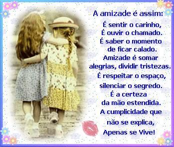 Amizade é...