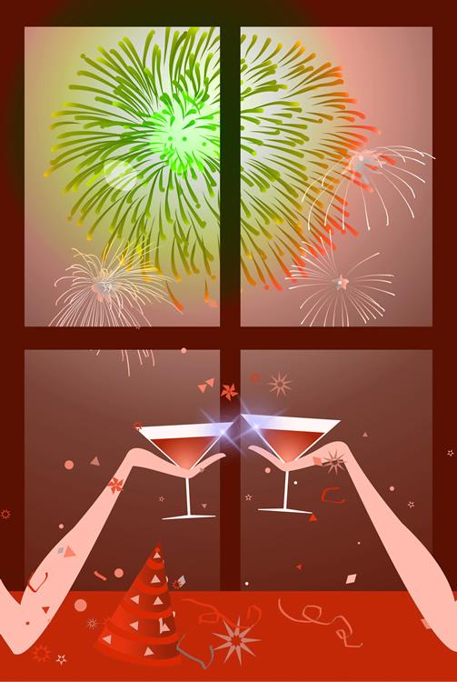 Brinde ao novo ano!