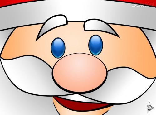 Pai Natal sorridente