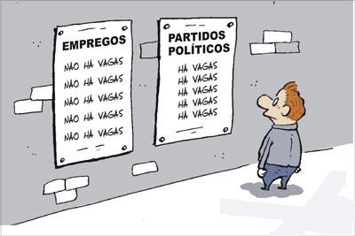 Emprego ou política?