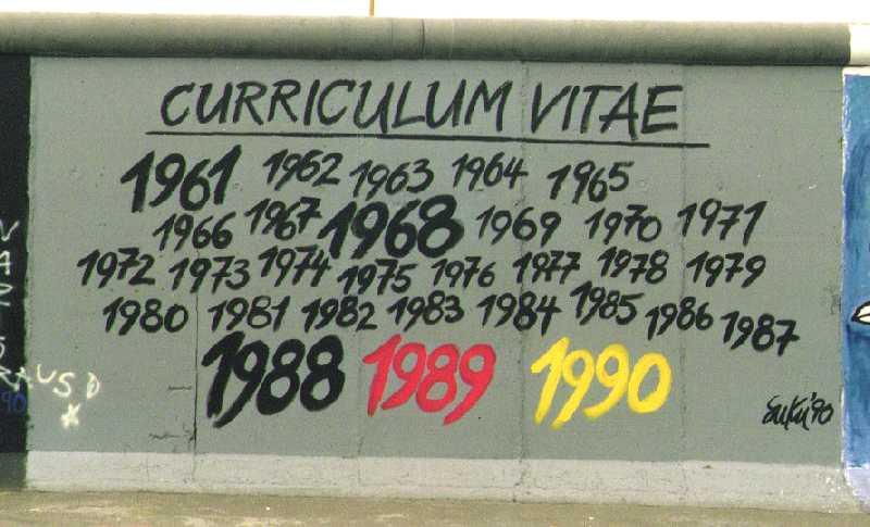 Berlin Wall - Curriculum