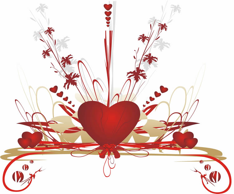 Coração em festa