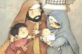 Menino Jesus - Postal de Natal