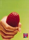 Vai um morango? - Postal de Publicidade