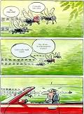 Mosquito - Postal de Motores