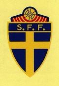 Suécia - Postal de Futebol