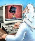 O PC de Deus - Postal de Informática