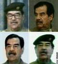 Saddam - Qual deles? - Postal de Sociedade