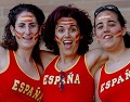 España - Postal de Futebol