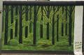 Berlin Wall - Floresta - Postal de Arte