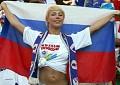 Rússia - Postal de Futebol