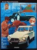 Citroën Dyane - Postal de Motores