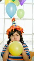 Olha o Balão! - Postal de Parabéns