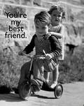 Melhor amigo! - Postal de Amizade