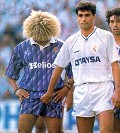 Jogo sujo - Postal de Futebol