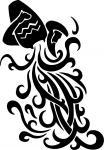 Aquário - Signos - Postal de Zodíaco