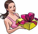 Presente de Aniversário - Postal de Parabéns