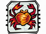 Caranguejo - Horóscopo - Postal de Zodíaco
