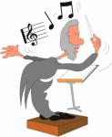 O Maestro - Postal de Música