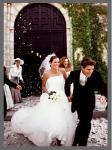 Felicidade - Postal de Casamento