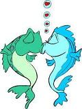 Peixes - Postal de Amor