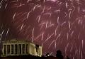 Atenas á noite - Postal de Desporto