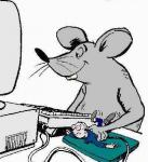 Rato de PC - Postal de Informática