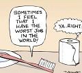 Escova - Postal de Trabalho