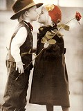 Kiss me again - Postal de Amor