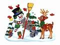 bambi - Postal de Natal