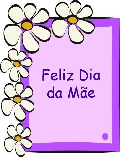 Feliz dia da Mae
