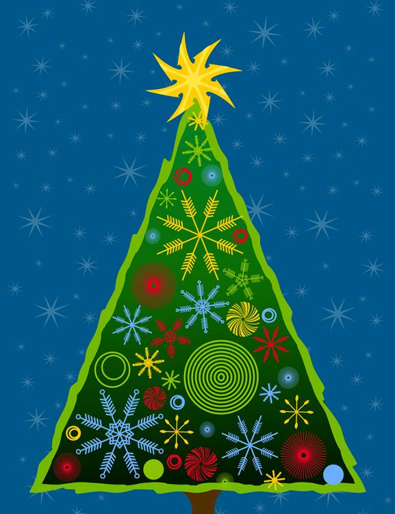 Árvore de Natal Moderna