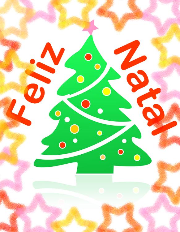 Feliz Natal colorido