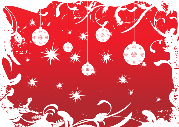 Natal vestido de Vermelho