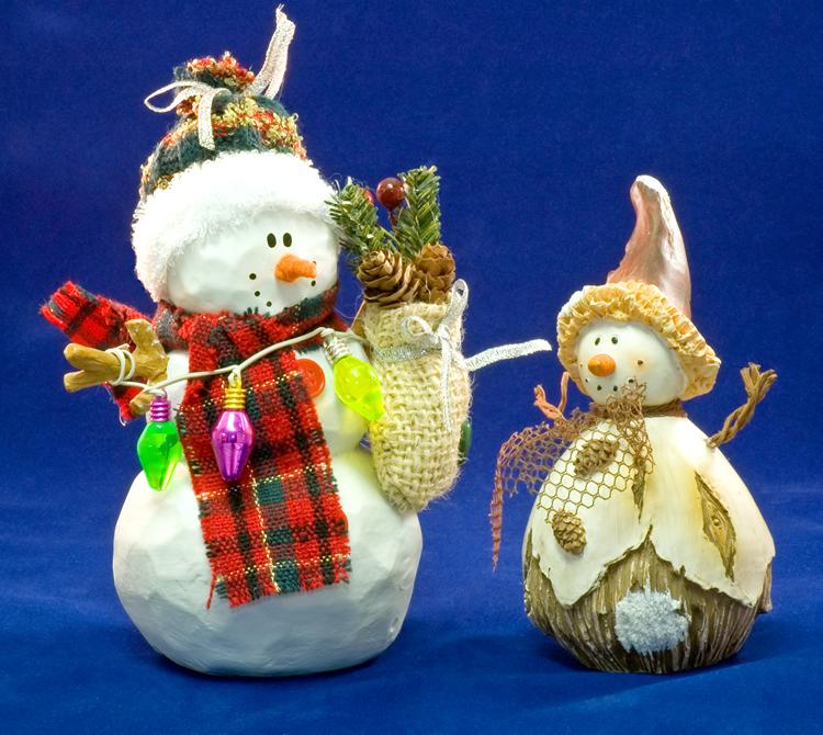Bonecos no Natal