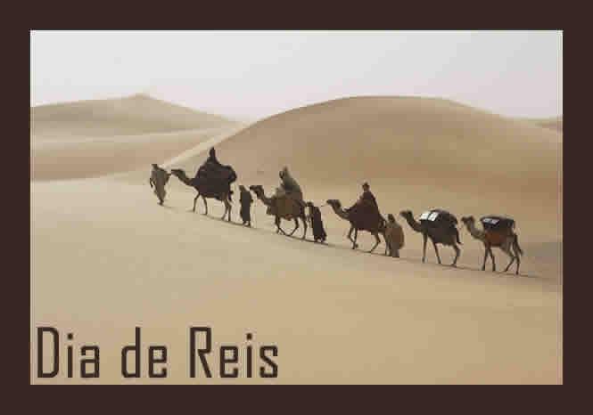 Reis Magos no Deserto
